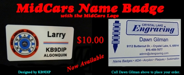 Name Badge now Available